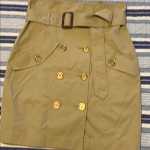 Gorgeous Burberry Brit trench skirt